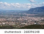 the city of terni and the north ... | Shutterstock . vector #268396148