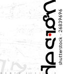vector typo background   Shutterstock .eps vector #26839696