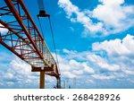 crane offshore | Shutterstock . vector #268428926