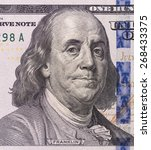 close up portrait of franklin... | Shutterstock . vector #268433375
