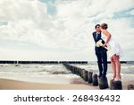 an image of wedding session on... | Shutterstock . vector #268436432