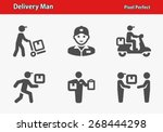 Delivery Man Icons....