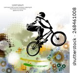 sport vector illustration. | Shutterstock .eps vector #268461008