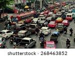 bangkok  thailand   january 22  ... | Shutterstock . vector #268463852
