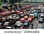 bangkok  thailand   january 22  ... | Shutterstock . vector #268463882
