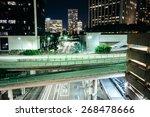 view of bridges over flower... | Shutterstock . vector #268478666