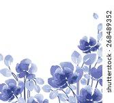 Watercolor Vector Flowers....