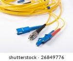 fibre optic network cables | Shutterstock . vector #26849776