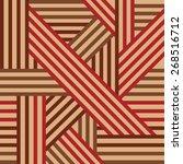 abstract seamless pattern.... | Shutterstock .eps vector #268516712