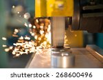 metalworking industry ... | Shutterstock . vector #268600496