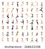 team achievement bright group  | Shutterstock . vector #268622108