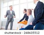 leadership and charisma.... | Shutterstock . vector #268635512