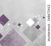 Abstract Gray Geometric...