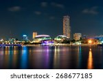 singapore city  singapore  ... | Shutterstock . vector #268677185