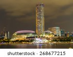 singapore city  singapore  ... | Shutterstock . vector #268677215