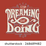 "motivational quote ""stop... 