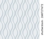 white 3d wallpaper. halftone... | Shutterstock .eps vector #268727672