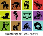 simple zodiac signs | Shutterstock . vector #26878594