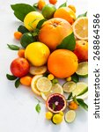Assorted Fresh Citrus Fruits...