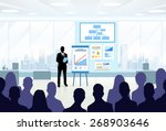 business people group... | Shutterstock .eps vector #268903646