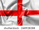 england st georges cross flag... | Shutterstock . vector #268928288
