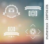 photography  camera ... | Shutterstock .eps vector #268936106