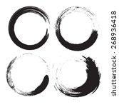 vector grunge logo | Shutterstock .eps vector #268936418