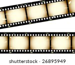 jpeg film negative...vector in... | Shutterstock . vector #26895949