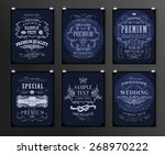 set of poster  flyer  brochure... | Shutterstock .eps vector #268970222