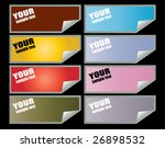 backgrounds | Shutterstock .eps vector #26898532
