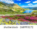Glacier Lake High Mountains An...