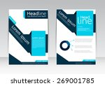 vector design for cover... | Shutterstock .eps vector #269001785