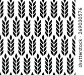 vector seamless pattern with... | Shutterstock .eps vector #269030576