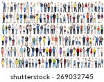 people diversity success... | Shutterstock . vector #269032745