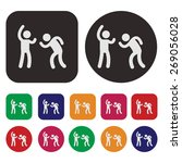 party icon   dance icon | Shutterstock .eps vector #269056028