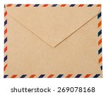 Envelope Brown Gray Wood Par...