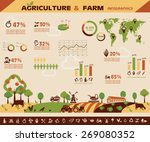 agriculture and farming... | Shutterstock .eps vector #269080352