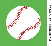 baseball vector icon | Shutterstock .eps vector #269089628