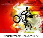 sport vector illustration   Shutterstock .eps vector #269098472