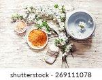 aromatherapy spa set  spa... | Shutterstock . vector #269111078