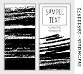 template. creative trendy... | Shutterstock .eps vector #269111972