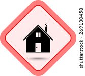 house sign icon  vector... | Shutterstock .eps vector #269130458