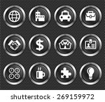 business travel and corporate... | Shutterstock .eps vector #269159972