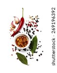 herbs and spices selection ... | Shutterstock . vector #269196392