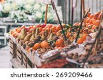 fresh fruits and vegetables for ... | Shutterstock . vector #269209466