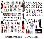 fashion elements | Shutterstock .eps vector #26923681