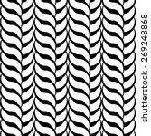 design seamless monochrome... | Shutterstock .eps vector #269248868