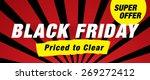 black friday sale | Shutterstock .eps vector #269272412