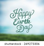 digitally generated earth day... | Shutterstock .eps vector #269273306