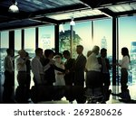 business people corporate... | Shutterstock . vector #269280626